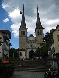 Church of St. Leodegar (Lucerne)