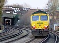 66953 first Freightliner I've seen via Bromley South (16275329218).jpg