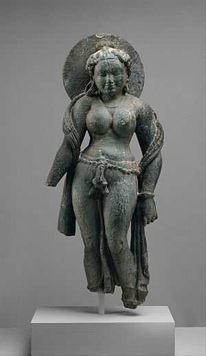 Murti - A Murti of mother goddess Matrika, from Rajasthan 6th century CE.