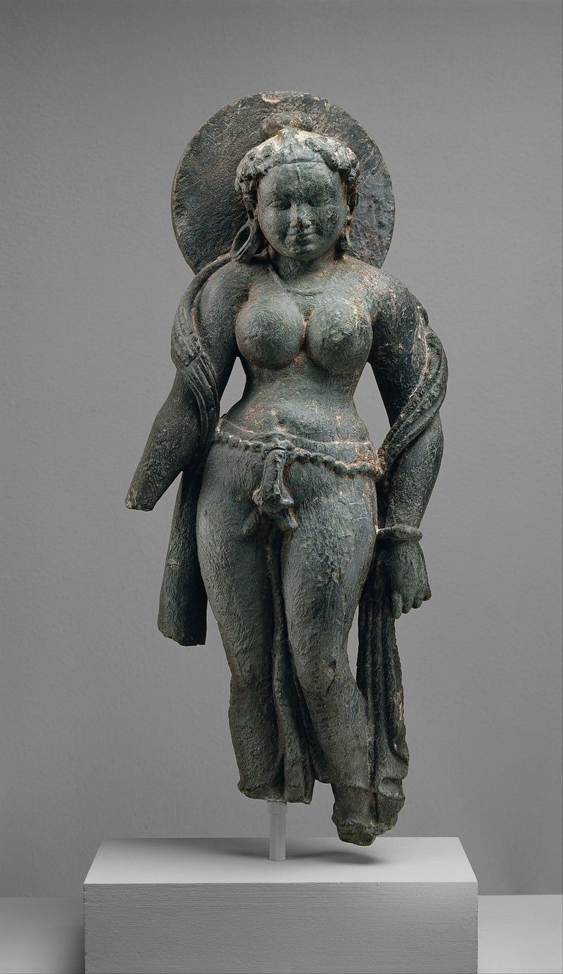 A Murti of mother goddess Matrika, from Rajasthan 6th century CE.
