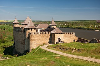 Khotyn Fortress Fortress complex in Ukraine