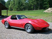 Corvette Stingray Rear on 1974 Corvette Stingray Coupe