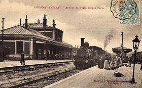 Image illustrative de l'article Gare de Gournay - Ferrières