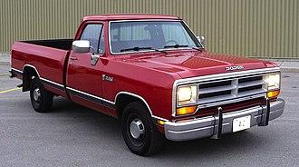 Ram Pickup - 1989 Ram D100