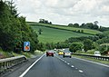 A38, North of A383 Newton Abbot turnoff - geograph.org.uk - 1367491.jpg