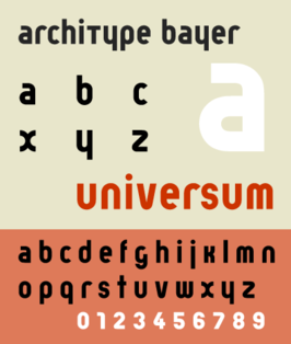 ARCHITYPE FONT RENNER
