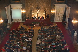 Royal Flemish Academy of Belgium for Science and the Arts - Assembly in the 'troonzaal'