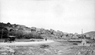Battle of Sharon - Anebta on the Tulkarm to Nablus road
