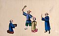 A Chinese female prisoner being beaten Wellcome V0041450.jpg