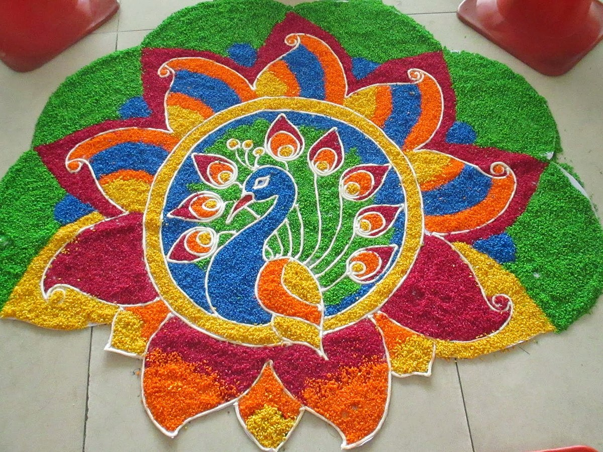 Happy New Year Best Rangoli 84