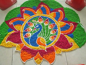 Puthandu - Tamil new year decorations for Puthandu