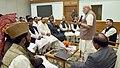 A delegation of All Jammu and Kashmir Panchayat Conference calls on the Prime Minister, Shri Narendra Modi, in New Delhi on November 05, 2016 (3).jpg