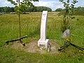 A monument to murder victim Sandra Ilona Kalk 2012 A.jpg