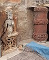 A statue in Harshnath Temple.jpg