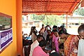 A view of the free medical camp conducted as part of the Bharat Nirman Public Information campaign, organised by Press Information Bureau Cochin, at Chalissery, in Palakkad district on October 30, 2013.jpg