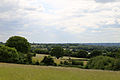 A view southwest from All Saints' churchyard, Nazeing, Essex, England.JPG