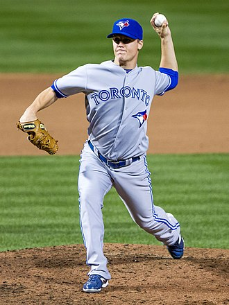 Aaron Loup - Loup pitching for the Blue Jays in 2012