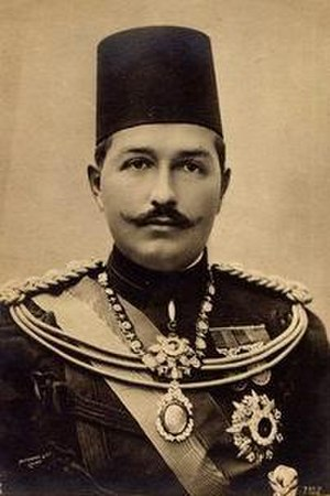 Abbas II of Egypt - Portrait of Abbas Hilmi II