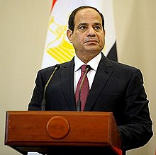 Abdel Fattah al-Sissi en 2014.