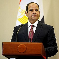 File photo of Abdel Fattah el-Sisi in 2014. Image: Russian Presidential Press and Information Office.
