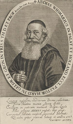 Abdias Widmarius