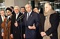 Abdul Aziz al-Hakim, Adnan Pachachi, Colin Powell & Ahmed Chalabi, 2004-Jan-20.jpg