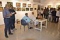 Abhoy Nath Ganguly Addressing - Inaugural Function - Atanu Ghosh Solo Exhibition - Kolkata 2016-10-20 0918.JPG