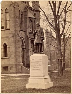 Abraham Pierson Co-founder of Yale University
