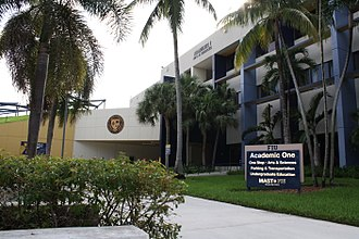 Biscayne Bay Campus - Academic I building at Florida International University's Biscayne Bay Campus
