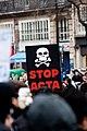 Acta of the death, anti ACTA le 25 février 2012.jpg