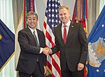 Acting Secretary of Defense meets with Minister of Defense of Japan 190419-D-HA938-101.jpg