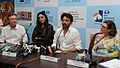 "Actor Irrfan Khan and Actress Tabu of the opening film ""Life of Pi"" addressing a press conference, at the 43rd International Film Festival of India (IFFI-2012), in Panaji.jpg"