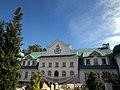 Adampol, pałac od strony dziedzińca.JPG