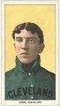 Addie Joss, Cleveland Naps, baseball card portrait LCCN2008676563.tif