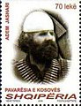 Adem Jashari 2008 stamp of Albania.jpg
