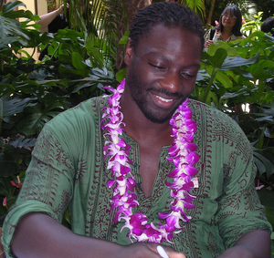 Adewale Akinnuoye-Agbaje - Akinnuoye-Agbaje at a Red Cross benefit at the Hilton Hawaiian Village, 28 February 2007