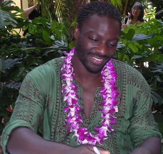 Adewale Akinnuoye-Agbaje - Akinnuoye-Agbaje at a Red Cross benefit at the Hilton Hawaiian Village, 28 February 2007