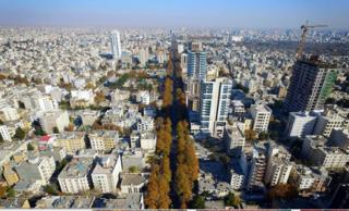 Mashhad City in Razavi Khorasan, Iran