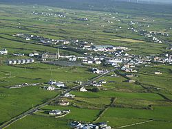 Aerial view of Milltown Malbay