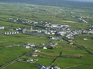 Milltown Malbay Town in Munster, Ireland