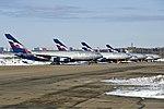 Aeroflot Ilyushin Il-96 lineup Petrov.jpg