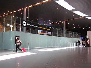 El Dorado International Airport - International Departures gate in the Terminal 1