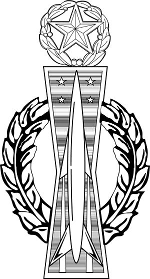Missile Badge - Command Missile Operations badge