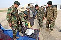 Afghan army, police assist northern Afghan village humanitarian assistance mission provides needed relief, medical supplies DVIDS144974.jpg