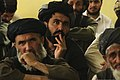 Afghan elders listen to district officials during a meeting at the Mizan district center, Mizan district, Zabul province, Afghanistan, Aug. 28, 2010 100828-F-MS171-016.jpg