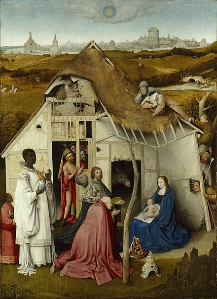 Adoration of the Magi after Hieronymus Bosch After Hieronymus Bosch - Adoration of the Magi - Petworth House.jpg