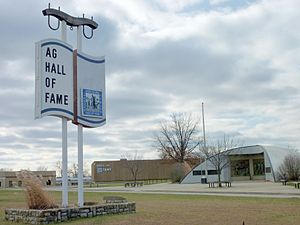 National Agricultural Center and Hall of Fame - The Hall in 2009
