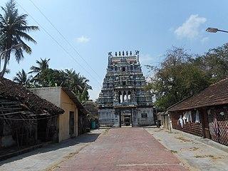 Agastheeswar Temple Hindu temple dedicated to Shiva in Agathiyampalli, India