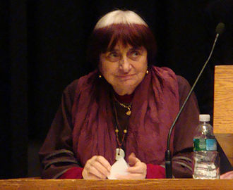 Agnès Varda - Agnès Varda speaking at a retrospective series at the Harvard Film Archive