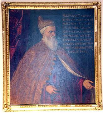 Agostino Barbarigo - An undated portrait of Barbarigo